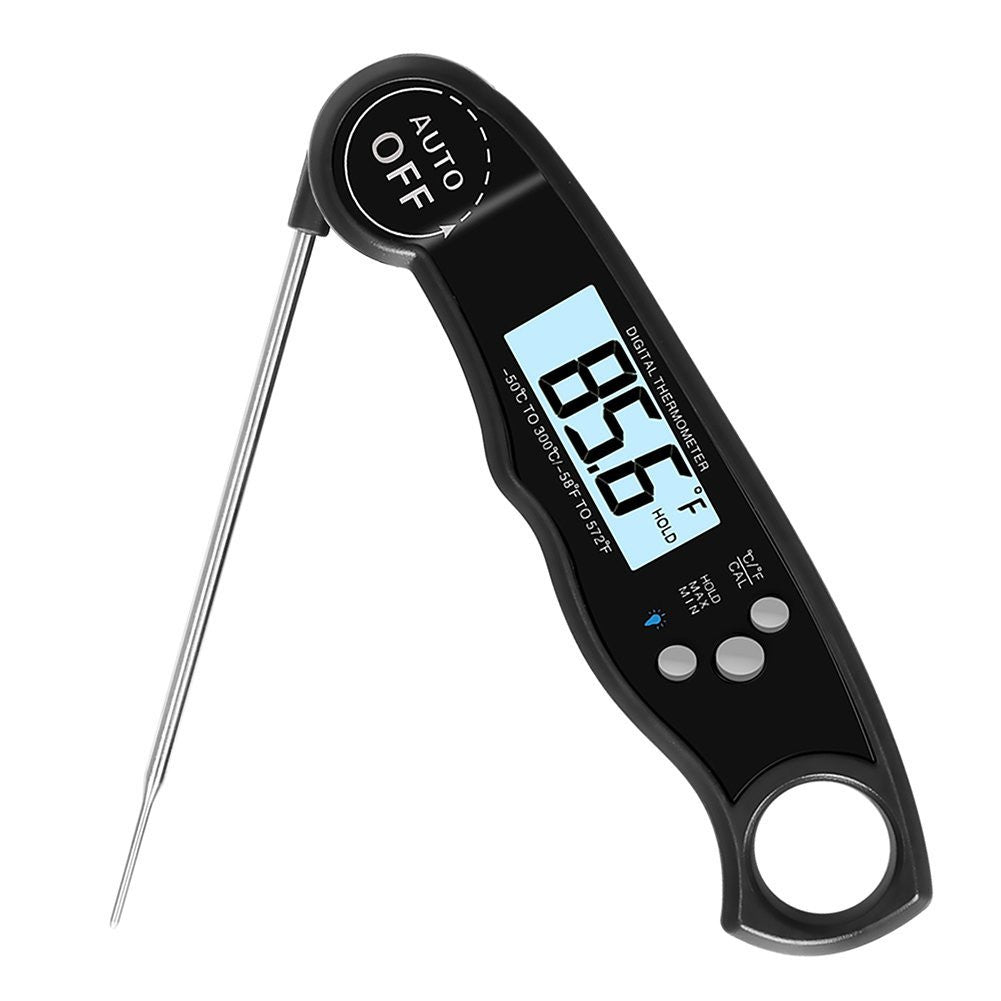Voice craft digital talking thermometer - Digital Cooking Thermometer Instant Read Meat Thermometer With Long Sensitive Probe For Bbq Grill Smoker Food Oil Oven Milk And Water