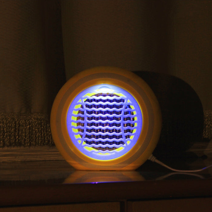Bug Zapper - The latest shock photocatalyst mosquito lamps plus inhaled - No radiation - the eradication of mosquitoes - bugs and other pests(yellow)