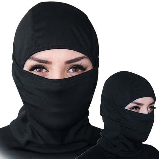Balaclava - Windproof Ski Mask - Cold Weather Face Mask Motorcycle Neck Warmer or Tactical Balaclava Hood - Ultimate Thermal Retention in Outdoors Super Comfortable Hypo-allergenic Moisture Wicking