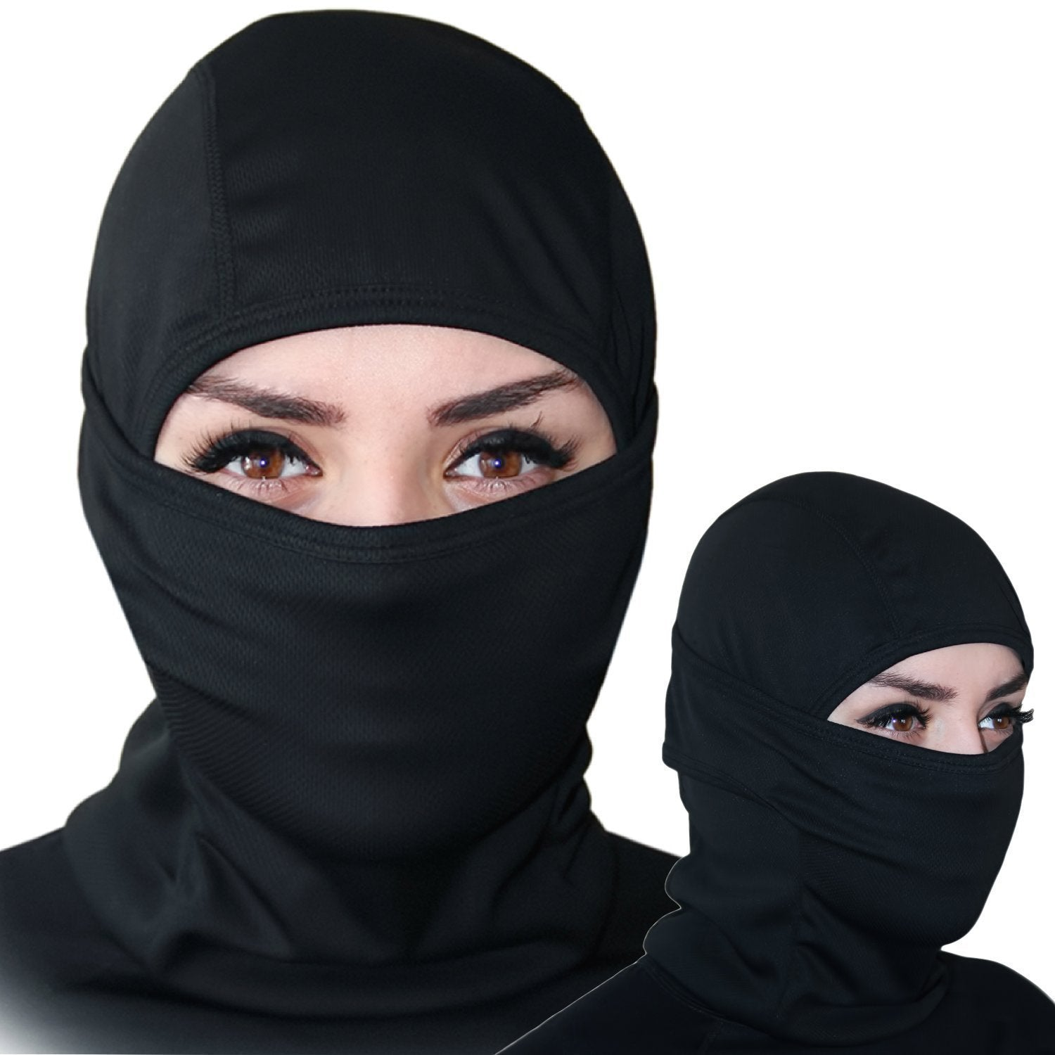 Balaclava - Windproof Ski Mask - Cold Weather Face Mask Motorcycle Neck  Warmer or Tactical Balaclava Hood - Ultimate Thermal Retention in Outdoors  Super ... 950d33d1384