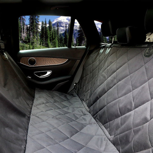 Pet Seat Cover Car Seat Cover for Pets - Waterproof & Scratch Proof & Nonslip Backing & Hammock, Quilted, Padded, Durable and Machine Washable Pet Seat Covers for Cars Trucks and SUVs