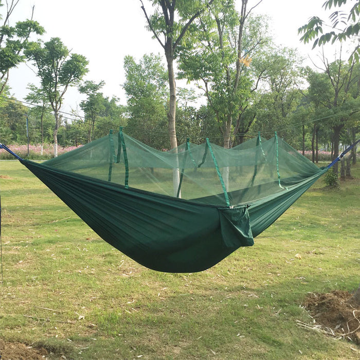Anti-mosquito bites Parachute Hammock  Fabric Mosquito Net for Indoor Outdoor Camping Using Reading/sleeping