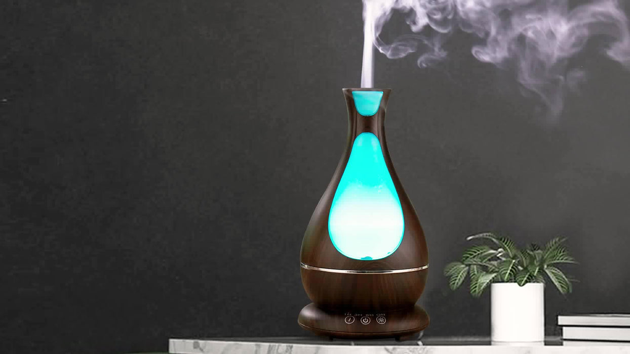 2018 New Technology Spa Baby Yoga Whisper Quiet Electric Humidifier Ultrasonic Aroma Diffuser 400ml