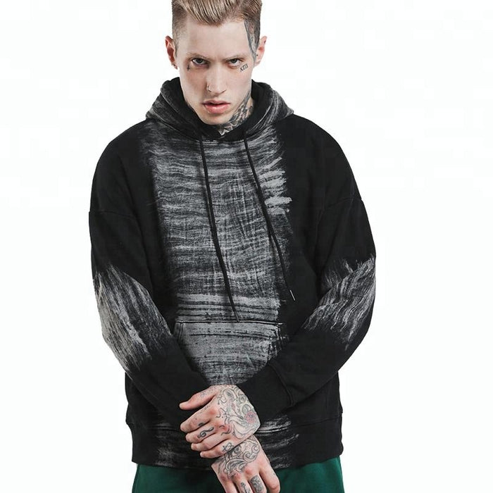 OEM hoody manufacturer acid wash hoodie for men