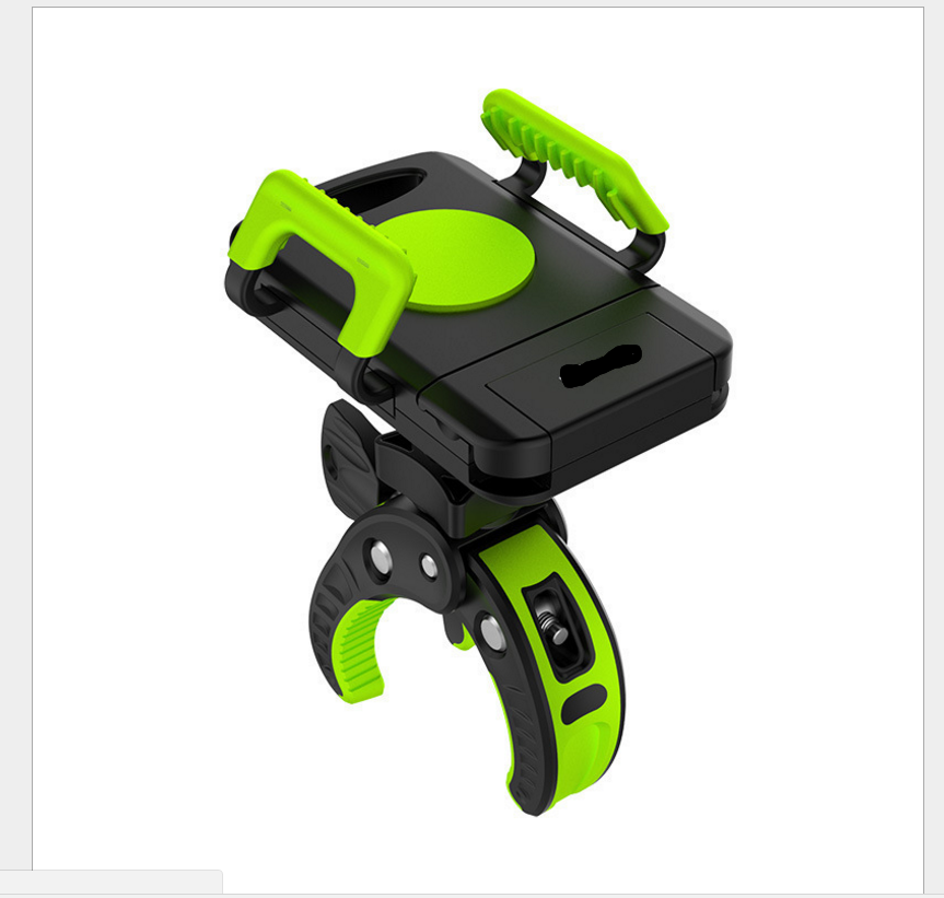 Bike Phone Mount Bicycle Holder, Universal Cradle Clamp for iOS Android  Smartphone GPS other Devices, with One-button Released, 360 Degrees  Rotatable,