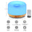 Remote Control 500ml Essential Oil Aromatherapy Diffuser,Cool Mist Ultrasonic Air Humidifier with 7 Colors Changing Lights