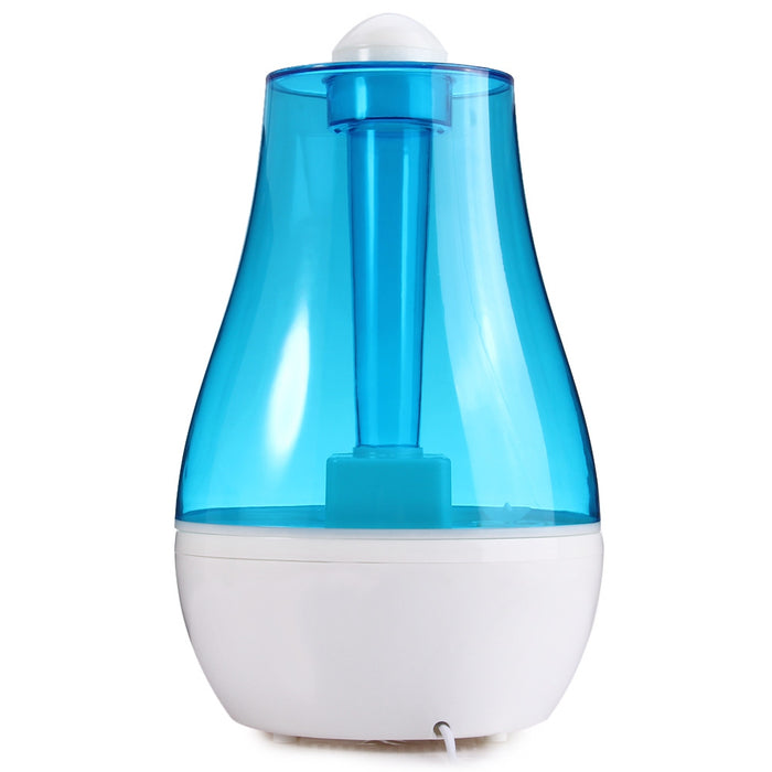 Stylish Design Air Humidifier 25W Practical 2.5L Aroma Diffuser Ultrasonic Humidifier for Home Mist Maker Fogger  EU / US Plug
