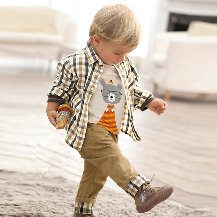 Baby Wear Spring Children's Clothes Boys Toddler Fashionable Kids Boutique Clothing Sets