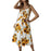 Woman Fashion Printed Sleeveless Sexy Woman Apparel Casual Summer Floral Dress 2019 New lady Sexy dresses women lady
