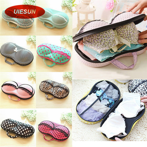 8 Colors Storage Bag Box Protect Bra Organizer Container Underwear Case Travel Portable