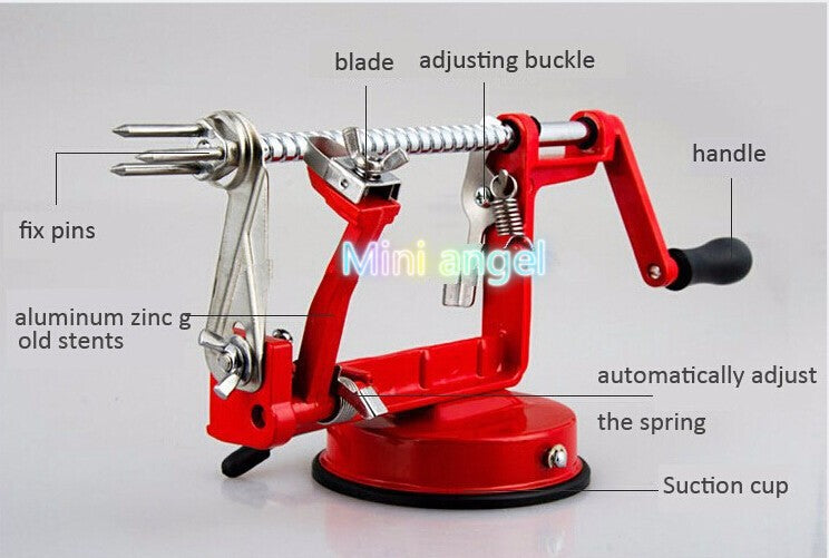 3 in 1 apple peeler fruit peeler slicing machine / stainless steel apple fruit machine peeled tool Creative Home Kitchen