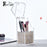 Crystal Acrylic Makeup brush box Organizer Makeup cosmetic storage tool Flashing  pencil holder Lipstick Organizer holder case