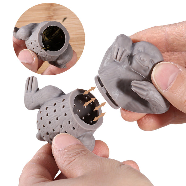 Silicone Sloth Coffee/Tea Infuser/Filter/Strainer