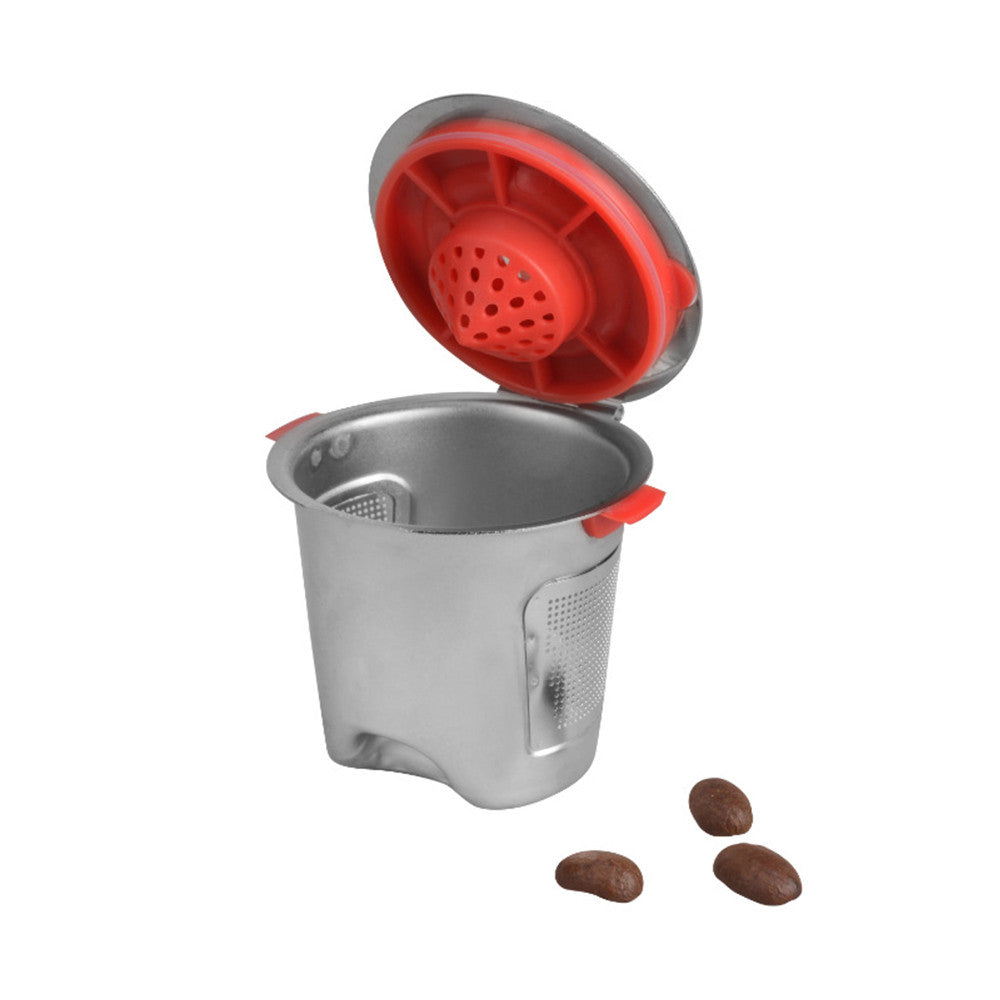 1pc Stainless Steel Reusable Refillable Coffee k-Cup