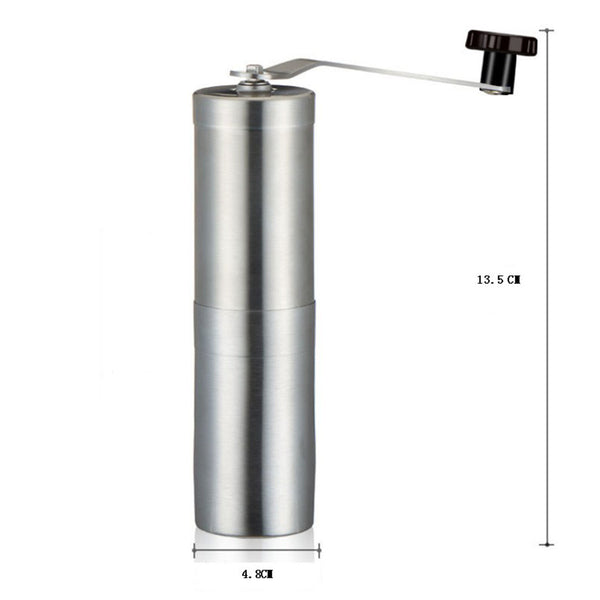 Manual Stainless Ceramic Burr Coffee Grinder