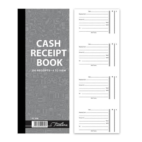 Treeline Cash Receipt Books