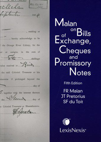 BILLS OF EXCHANGE 5EDN - Elex Academic Bookstore