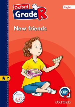 Oxford Grade R Graded Reader 2: New friends - Elex Academic Bookstore