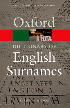 Dictionary of English Surnames - Elex Academic Bookstore