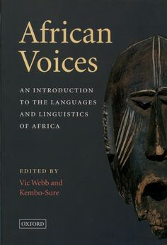 African Voices: Intro to Lang & Lit in SA - Elex Academic Bookstore