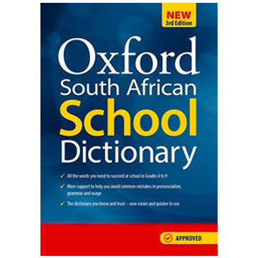 Oxford South African School Dictionary 3rd Edition (Paperback) - Elex Academic Bookstore