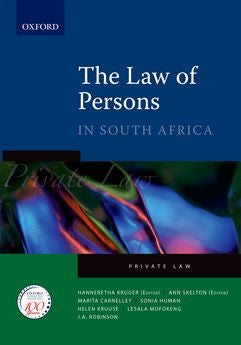 The Law of Persons in South Africa - Elex Academic Bookstore
