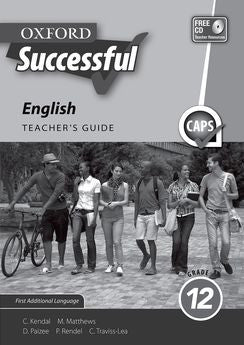 Oxford Successful English First Additional Language Grade 12 Teacher's Guide (Approved) - Elex Academic Bookstore