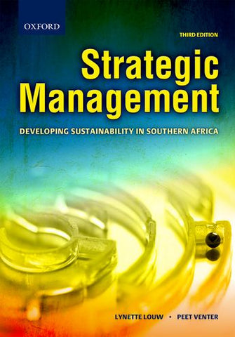 Strategic Management Developing Sustainability in Southern Africa 3rd Edition - Elex Academic Bookstore