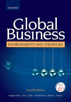 Global Business Environments & Strategies 4e - Elex Academic Bookstore