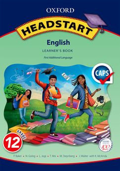 Headstart English First Additional Language Grade 12 Learner's Book (Approved) - Elex Academic Bookstore