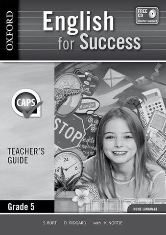 English for Success Home Language Grade 5 Teacher's Guide (Approved) - Elex Academic Bookstore