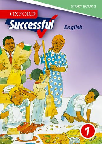 Oxford Successful English First Additional Language Grade 1 Story Book 2 (Approved) - Elex Academic Bookstore