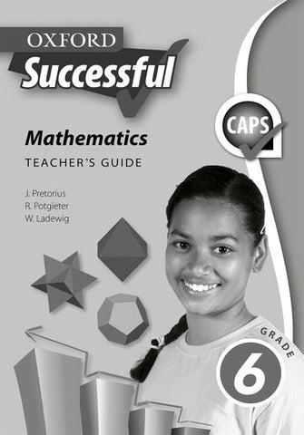 Oxford Successful Mathematics Grade 6 Teacher's Guide (Approved) - Elex Academic Bookstore