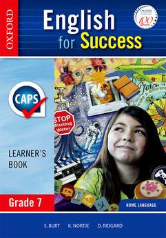 English for Success Home Language Grade 7 Learner's Book (Approved) - Elex Academic Bookstore