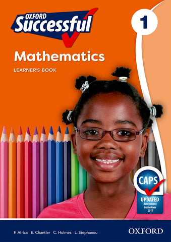 Oxford Successful Mathematics Grade 1 Learner's Book (Approved)