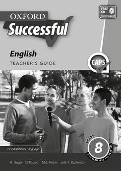 Oxford Successful English First Additional Language Grade 8 Teacher's Guide (Approved) - Elex Academic Bookstore