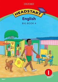 Headstart English First Additional Language Grade 1 Big Book 4 (Approved) - Elex Academic Bookstore