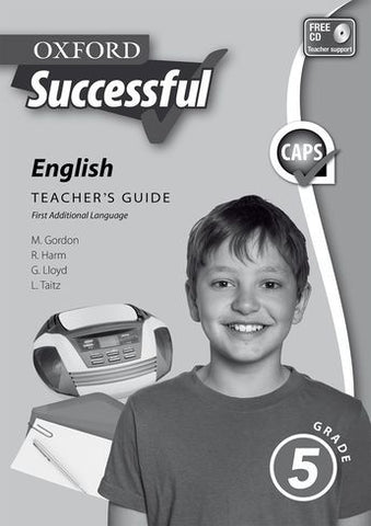 Oxford Successful English First Additional Language Grade 5 Teacher's Guide (Approved) - Elex Academic Bookstore