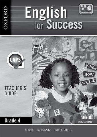 English for Success Home Language Grade 4 Teacher's Guide (Approved) - Elex Academic Bookstore