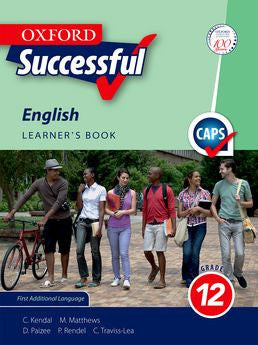 Oxford Successful English First Additional Language Grade 12 Learner's Book (Approved) - Elex Academic Bookstore