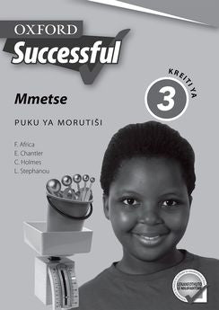 Oxford Successful Mathematics Grade 3 Teacher's Guide (Sepedi)  Oxford Successful Mmetse Kreiti ya 3 Puku ya Morutiši (Approved) - Elex Academic Bookstore