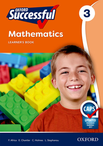 Oxford Successful Mathematics Grade 3 Learner's Book (Approved)
