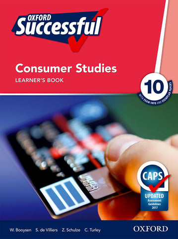Oxford Successful Consumer Studies Grade 10 Learner's Book