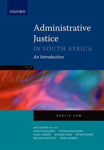 Administrative Law in South Africa - Elex Academic Bookstore