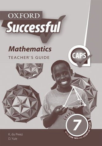 Oxford Successful Mathematics Grade 7 Teacher's Guide (Approved) - Elex Academic Bookstore