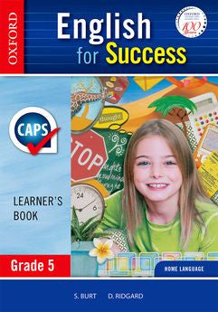 English for Success Home Language Grade 5 Learner's Book (CAPS) (Approved) - Elex Academic Bookstore