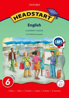 Headstart English First Additional Language Grade 6 Learner's Book (Approved) - Elex Academic Bookstore