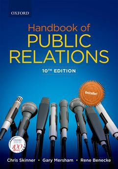 Handbook of Public Relations 10e - Elex Academic Bookstore