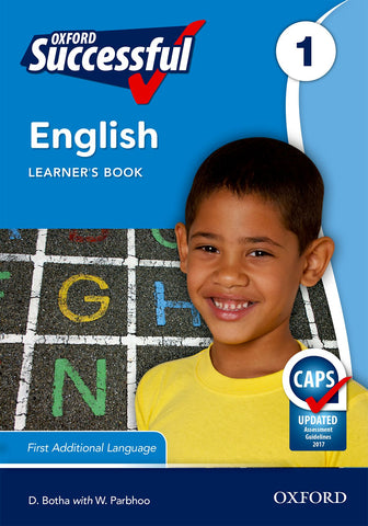 Oxford Successful English First Additional Language Grade 1 Learner's Book (Approved)