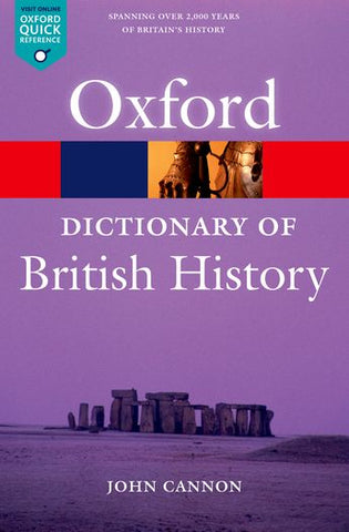 Dictionary of British History 2e Revised - Elex Academic Bookstore
